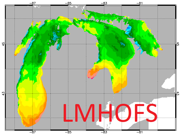 Lake Michigan and Huron Operational Forecast System