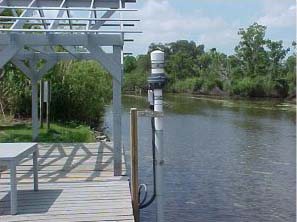 St.Charles Parish tide gauge